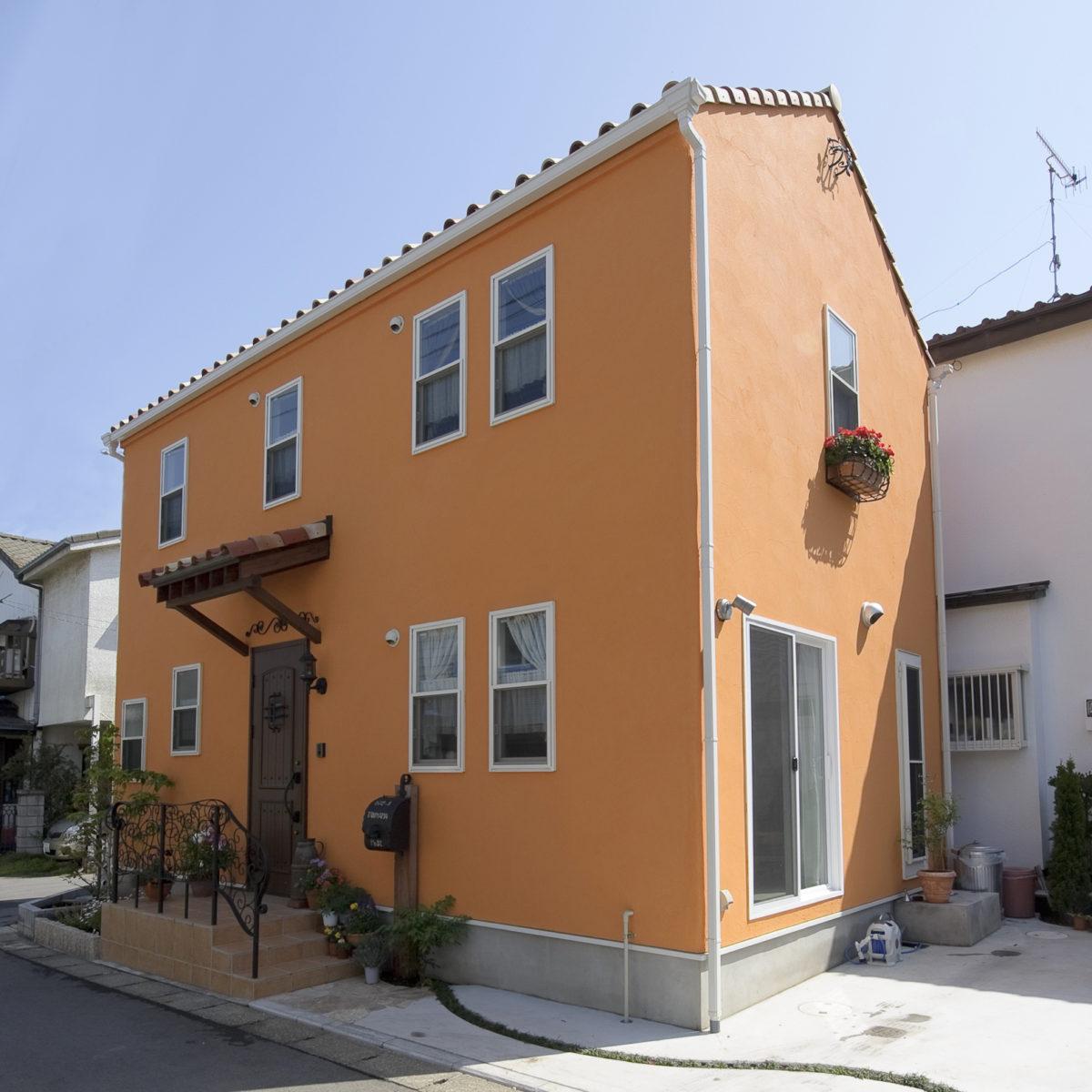 地中海の香り漂うオレンジハウス